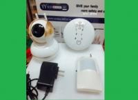 Camera IP WiFi WTC-IP308 độ phân giải 1.0MP
